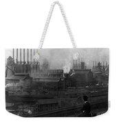 Steel Factory, C1907 Weekender Tote Bag