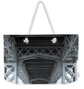 Steel Girder Bridge Weekender Tote Bag