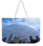 Steel Globe Weekender Tote Bag