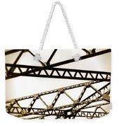 Steel Lines Weekender Tote Bag