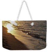 Steel Mill Sunset Weekender Tote Bag