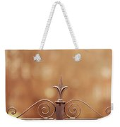 Steel Ornamented Fence Weekender Tote Bag