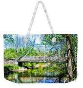 Steel Span Bridge Gettysburg Weekender Tote Bag