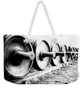 Steel Wheels Weekender Tote Bag