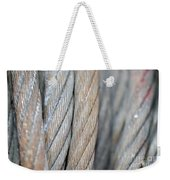 Steel Wire Weekender Tote Bag
