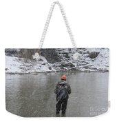 Steelhead Fishing Weekender Tote Bag