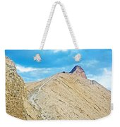 Steep Trail To Manly Beacon From Golden Canyon In Death Valley National Park-california  Weekender Tote Bag