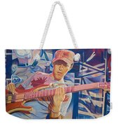 Stefan Lessard And 2006 Lights Weekender Tote Bag