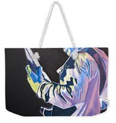 Stefan Lessard Colorful Full Band Series Weekender Tote Bag