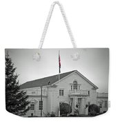 Steilacoom Town Hall Weekender Tote Bag