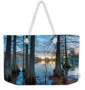Steinhagen Reservoir Vertical Weekender Tote Bag