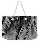 Steinway Black And White Inners Weekender Tote Bag