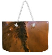 Stellar Spire In The Eagle Nebula Weekender Tote Bag by Adam Romanowicz