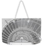 Stencil Up Lighthouse Stairs Weekender Tote Bag