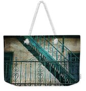 Step By Step - Into The Past Weekender Tote Bag