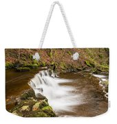 Step In The Scaleber Force Waterfall Weekender Tote Bag