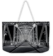 Step Under The Steel Weekender Tote Bag