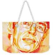 Stephen Hawking Portrait Weekender Tote Bag