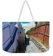 Aliso Creek Beach Access Weekender Tote Bag