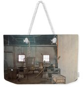 Stepping Back Weekender Tote Bag