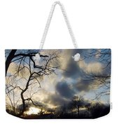 Stepping Over The Sun Weekender Tote Bag