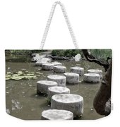 Stepping Stone Kyoto Japan Weekender Tote Bag