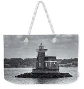 Stepping Stones Lighthouse II Weekender Tote Bag by Clarence Holmes
