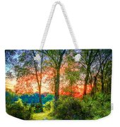 Stepping Stones To The Light Weekender Tote Bag
