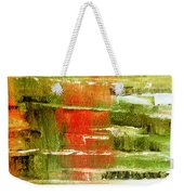 Steps In The Morning Weekender Tote Bag