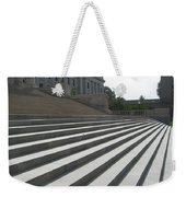 Steps Of Justice Weekender Tote Bag