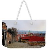 Steps Of Prague Weekender Tote Bag