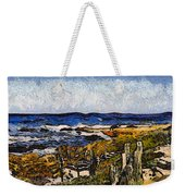 Steps To The Sea Abstract Weekender Tote Bag