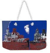Stereo Card San Xavier Mission  Charles Fariot Photo C.1890 Weekender Tote Bag