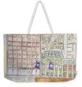 Nyu Stern School Of Business Weekender Tote Bag