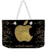 Steve Jobs Quote Original Digital Artwork Weekender Tote Bag