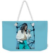 Steve Perry Of Journey At Day On The Green - July 1980 Weekender Tote Bag