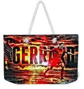 Steven Gerrard Liverpool Symbol Weekender Tote Bag