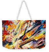Stevie Ray Vaughan Weekender Tote Bag