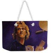 Stewart Copeland - The Police Weekender Tote Bag by John  Nolan