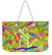 Stickman  Surfing  The  Colors Weekender Tote Bag