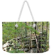 Sticks And Stones Along The Way Weekender Tote Bag