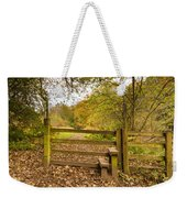 Stile In Plessey Woods Weekender Tote Bag