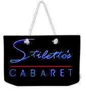 Stiletto's Cabaret Weekender Tote Bag