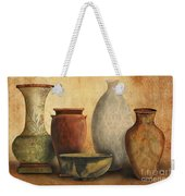 Still Life-d Weekender Tote Bag by Jean Plout
