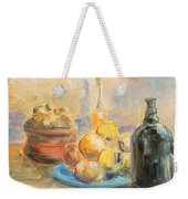 Still Life From Italy Weekender Tote Bag