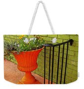 Still Life In Colorful Alley  Weekender Tote Bag