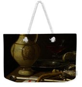 Still Life Weekender Tote Bag by Jan Jansz van de Velde