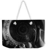 Still Life Of Armenian Plate And Other Weekender Tote Bag
