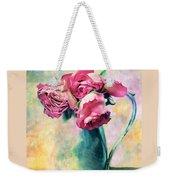 Still Life Roses Weekender Tote Bag