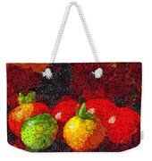Still Life Tomatoes Fruits And Vegetables Weekender Tote Bag